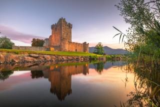 Ross Castle Sunset